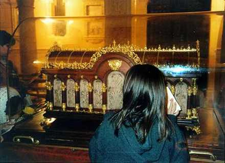 Reliquary of St. Therese of Lisieux